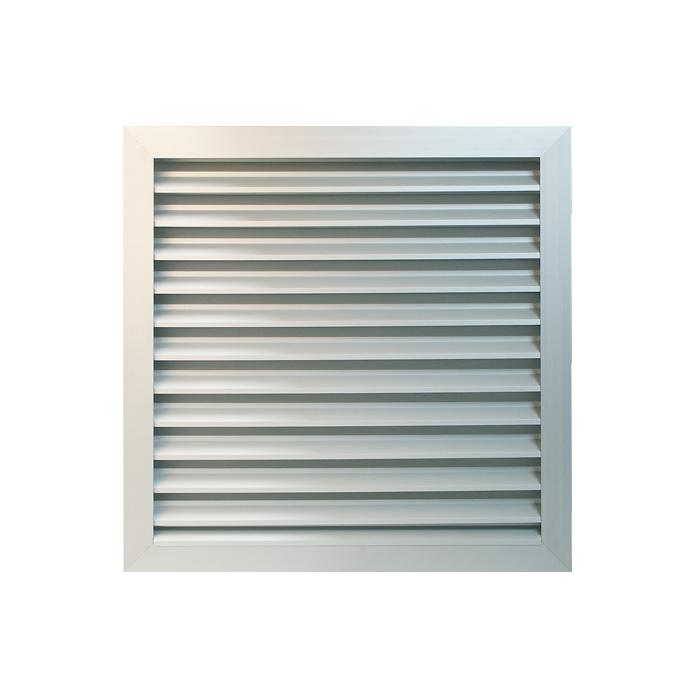 Grille de ventilation inox A4-105 x 215 mm