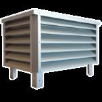 Édicule de toiture aluminium